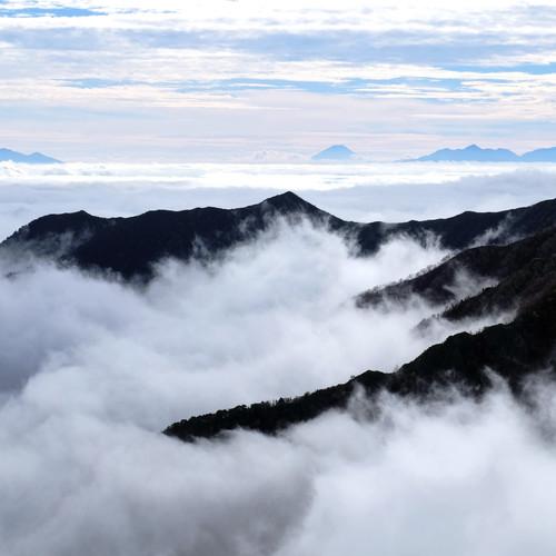 Mt. Fuji, Yatsugatake & the Southern Alps, Nagano