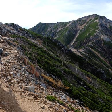 Looking Towards Mt. Jonen, Nagano