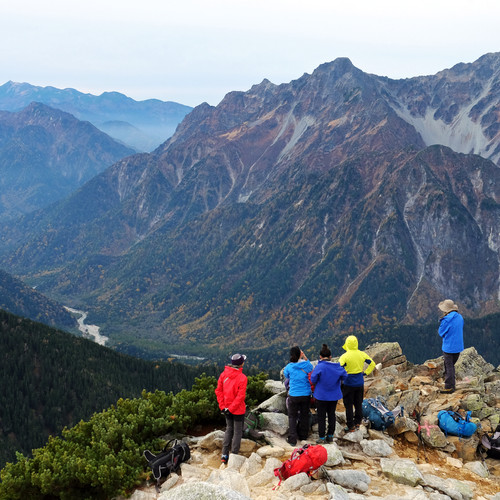 Excellent View of the Hotaka Range, Nagano