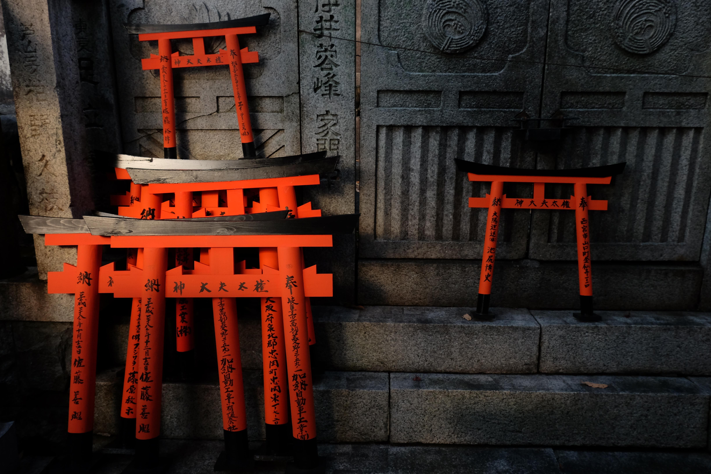 Miniature Tori Gates, Kyoto