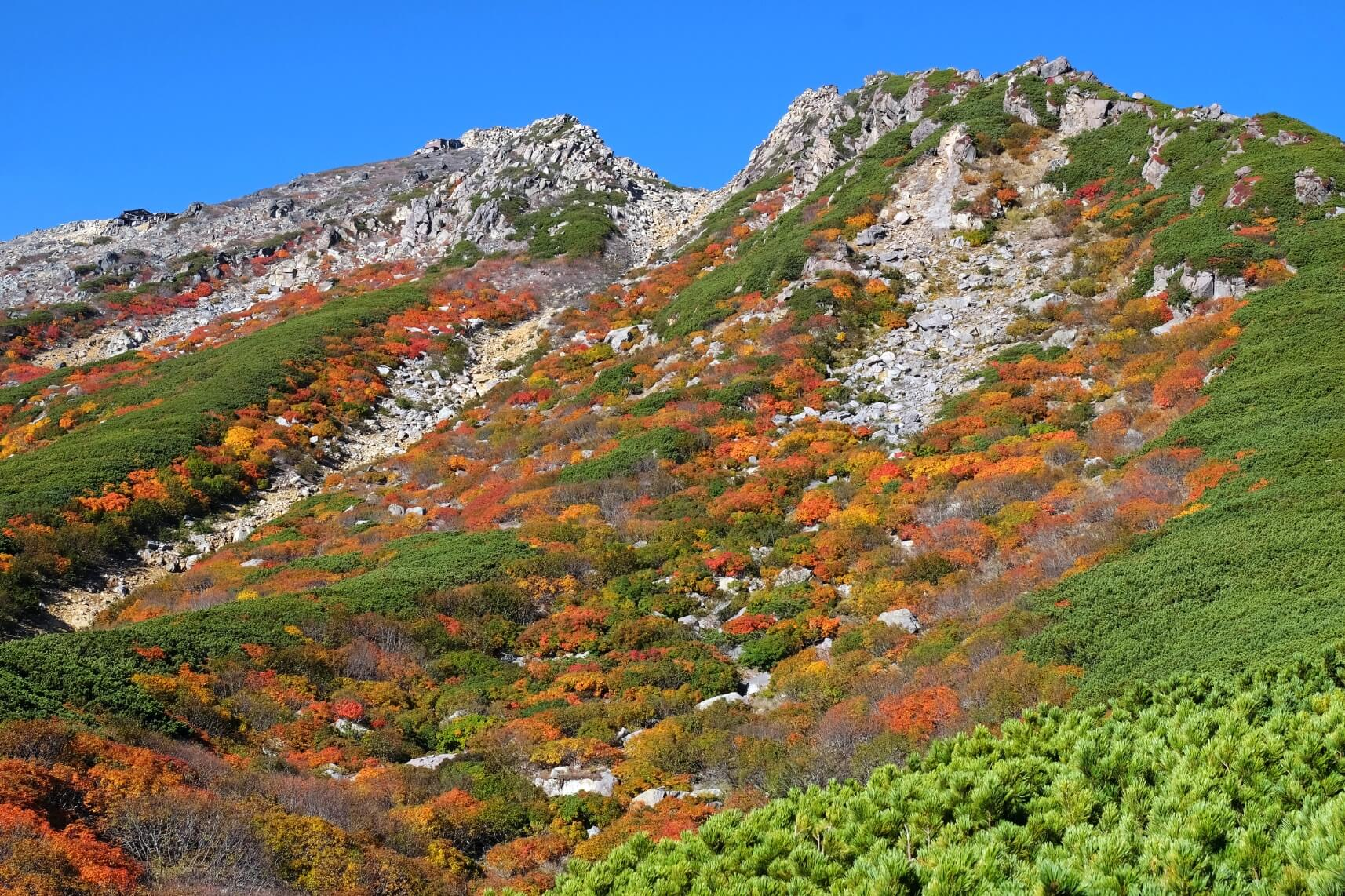 October Colors on Mt. Ontake, Gifu
