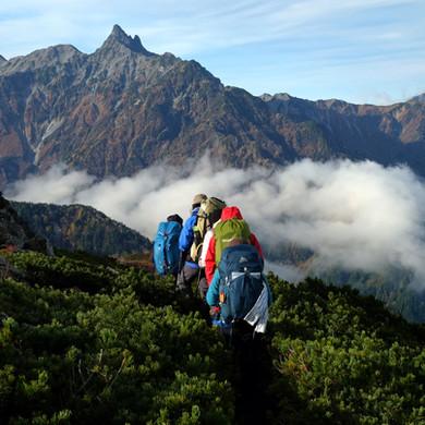 Mt. Yari Dominating the Views, Nagano