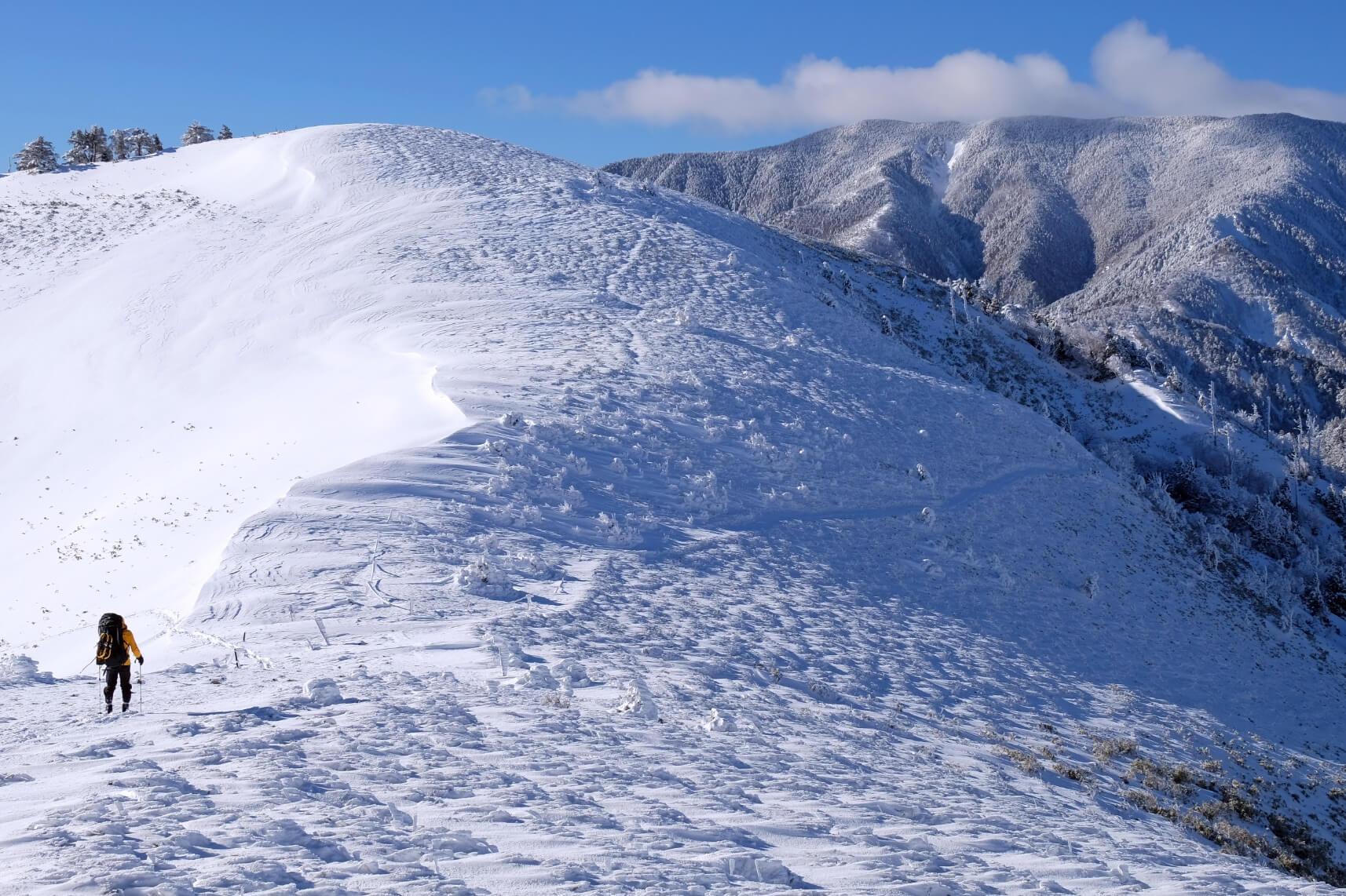 Snowshoeing around Fujimidai Kogen, Gifu