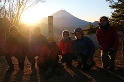 Mt. Fuji Sunrise Hike, Fuji 5 Lakes Area, Yamanashi