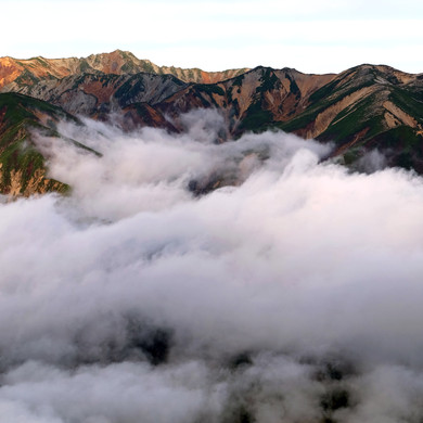 The Northern Alps & Sea of Clouds, Nagano