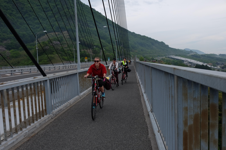 Crossing Bridges on Bike, Shikoku