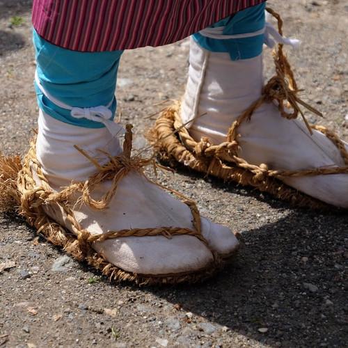 Traditional Footwear Along the Salt Road, Salt Road Festival, Nagano