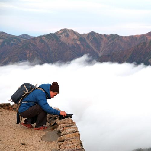 Above the Clouds, Enzan Mt. Hut, Nagano