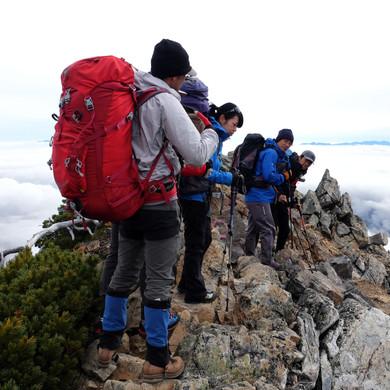 Above the Clouds Near Mt. Jonen, Nagano
