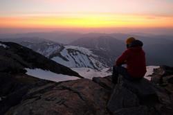 Sunrise from the Summit of Mt. Haku (Hakusan), Ishikawa