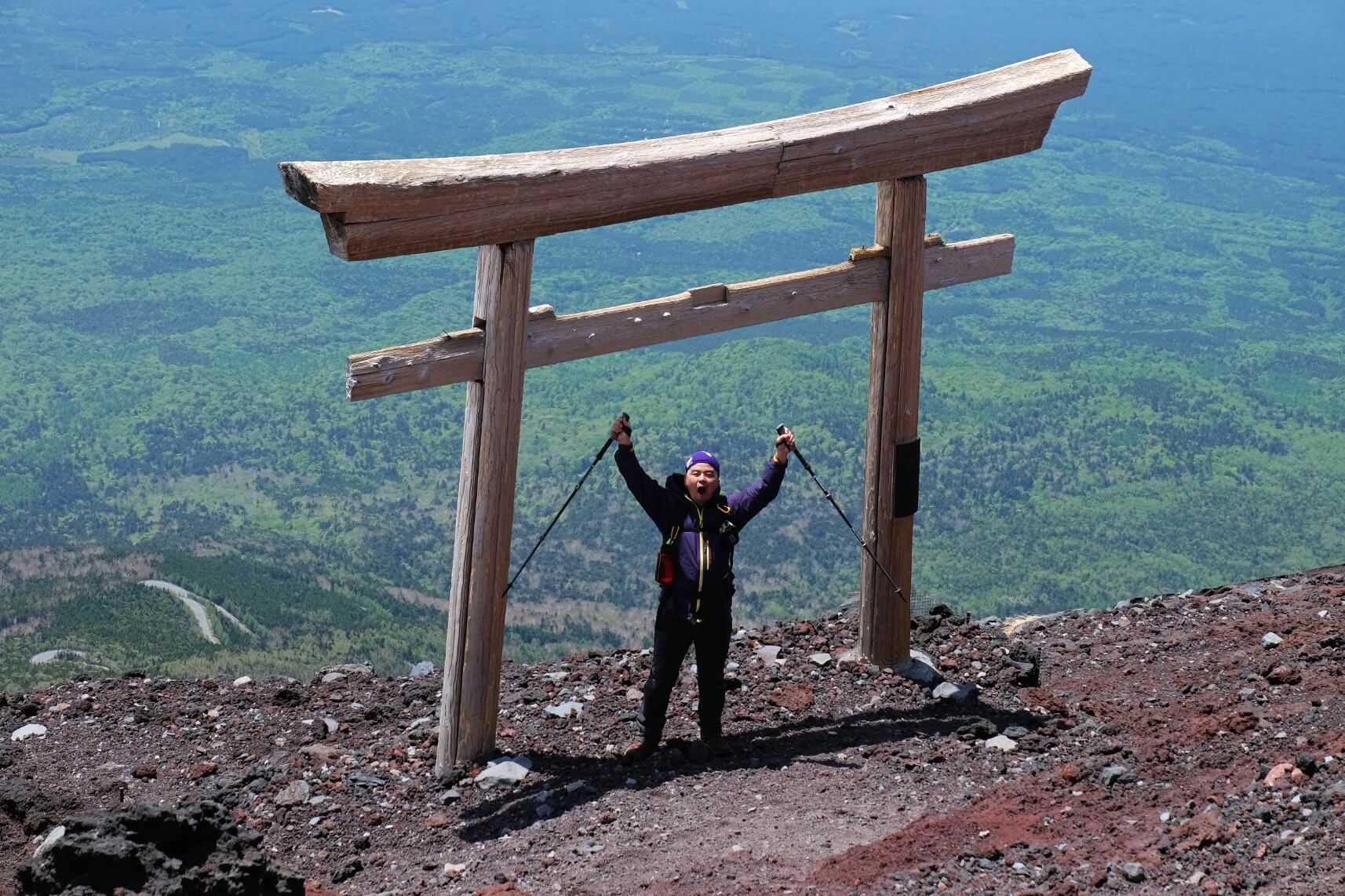 Mt. Fuji in June Without the Crowds, Shizuoka