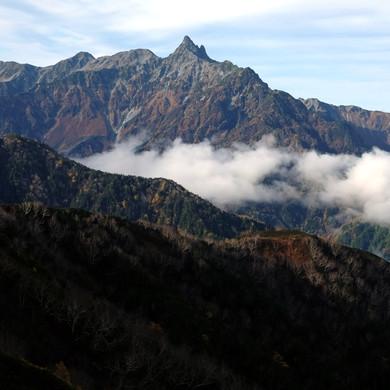 The Major Peaks of the Kita Alps, Nagano