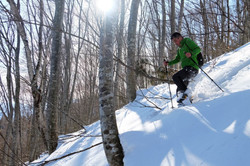 Snowshoeing in the Hakuba / Otari Area, Nagano