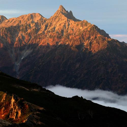 Early Morning Mt. Yari, Nagano