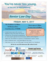 Senior Law Day May 5th