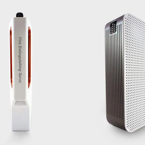FIRO Wall-mounted fire extinguisher