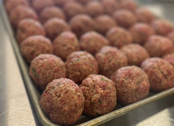 100% Grass fed Meatballs