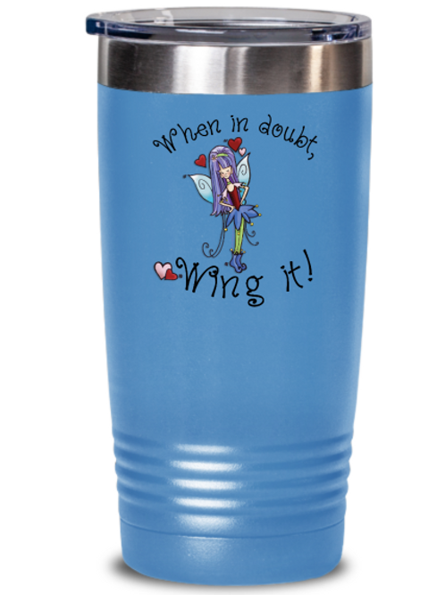 """Classic """"Wing it"""" Insulated Tumbler"""