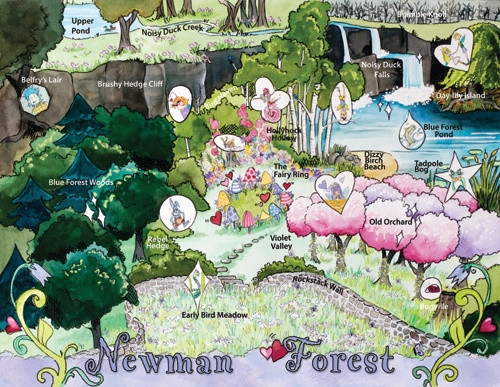 Map of Newman Forest