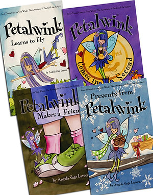 Set of 4 Petalwink Hardback books