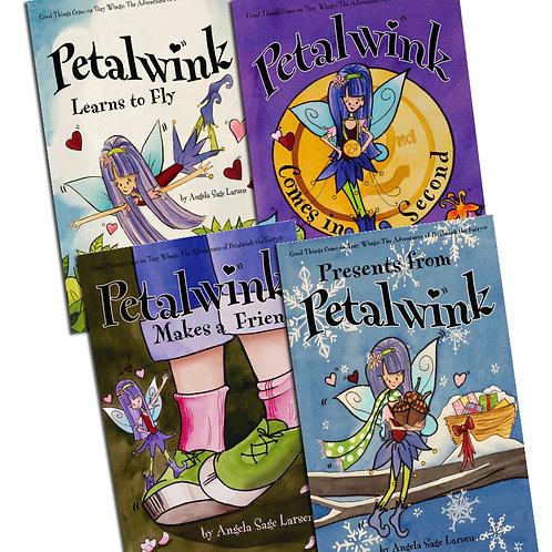 Set of 4 Petalwink Paperback Books