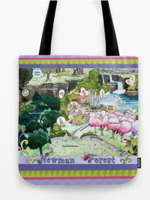 Newman Forest Fairyland Tote Bag