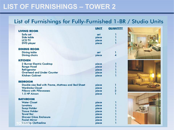 Wind Residences Tower 2 Unit Deliverable