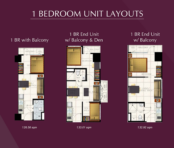 S Residences 1 Bedroom Unit Layouts.png