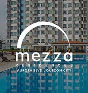 Mezza Residences - Aurora Blvd., Quezon