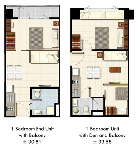 Lush Residences 1 Bedroom with Balcony.p
