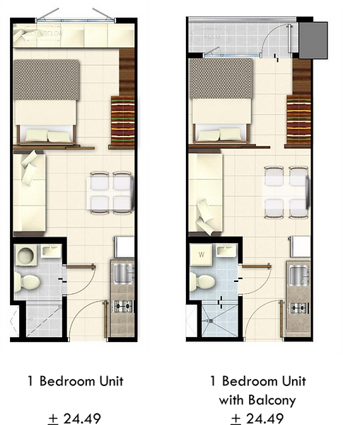 Lush Residences 1 Bedroom Units.png