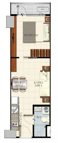Sail Residences 1 Bedroom with Balcony 3
