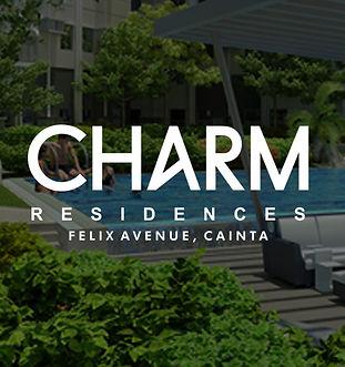Charm Residences - Felix Ave., Cainta, R