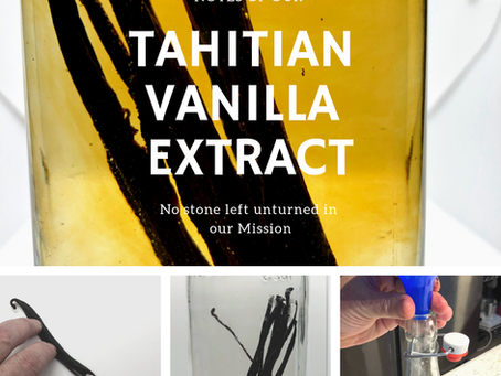 Our Handmade Vanilla Extract is Tops!