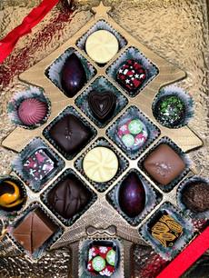 San Diego Chocolate Christmas box