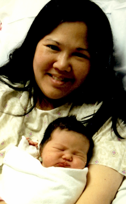 Karina is born in Chicago!