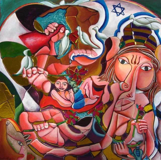 Ganesha Protector of Boundaries/Bringer of Abundance