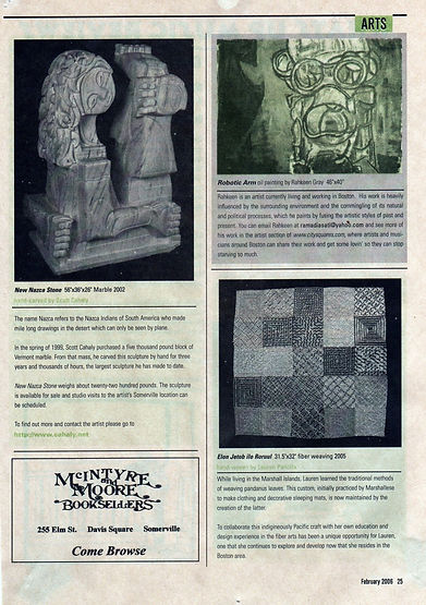 New Nazca stone Marble Statue