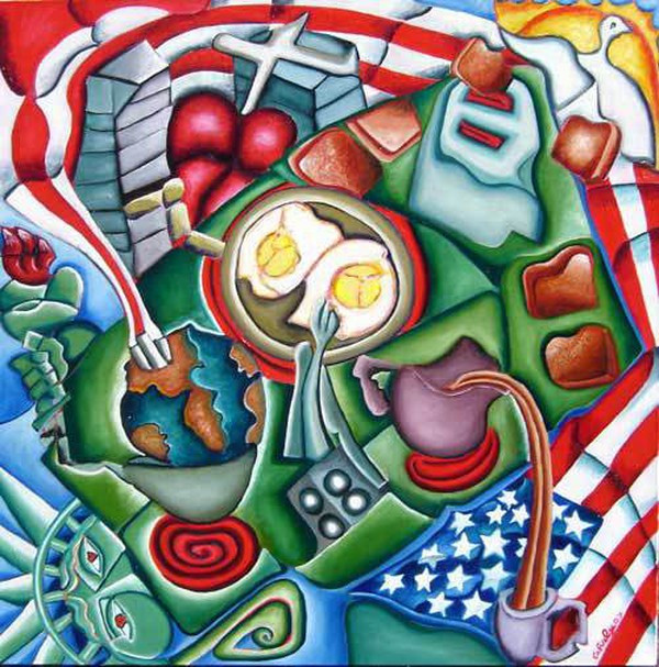 American Breakfast(global warming style)