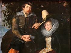 Rubens und Isabella Brant in der Geißblattlaube- Peter Paul Rubens, 1609 - Alte Pinakothek München