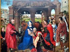 Der Dreikönigsaltar (Columba-Altar) - Rogier van der Weyden - 1455 - Alte Pinakothek München