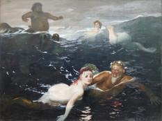Spiel der Wellen - Arnold Böcklin - 1883 - Neue Pinakothek München
