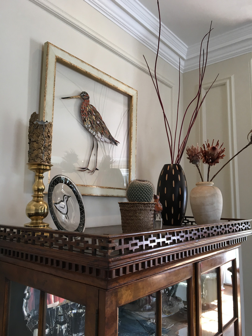 Wall Mounted Bird Art - Lily Adele Art