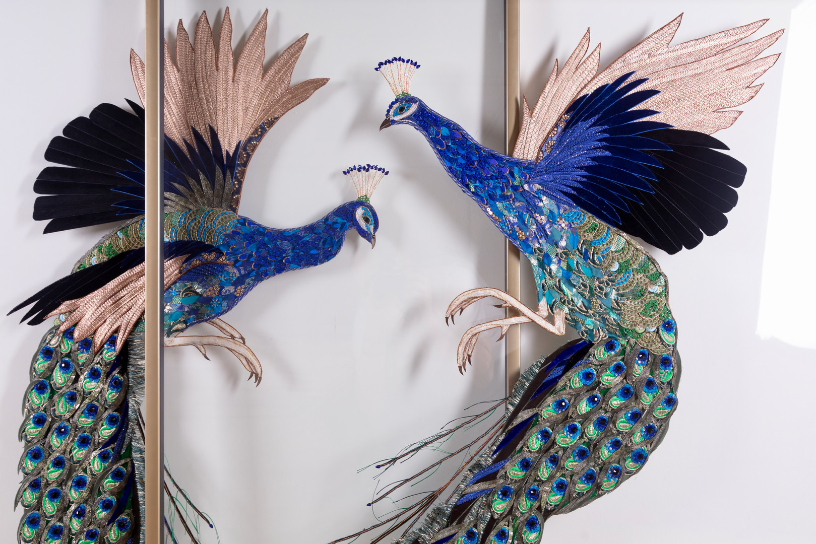 Fortnum and Mason Peacocks