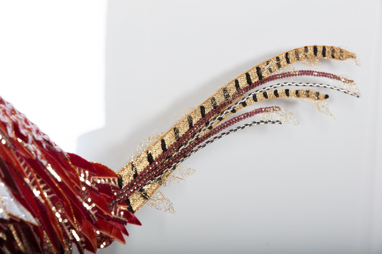 Pheasant Detail Shot - Lily Adele Art