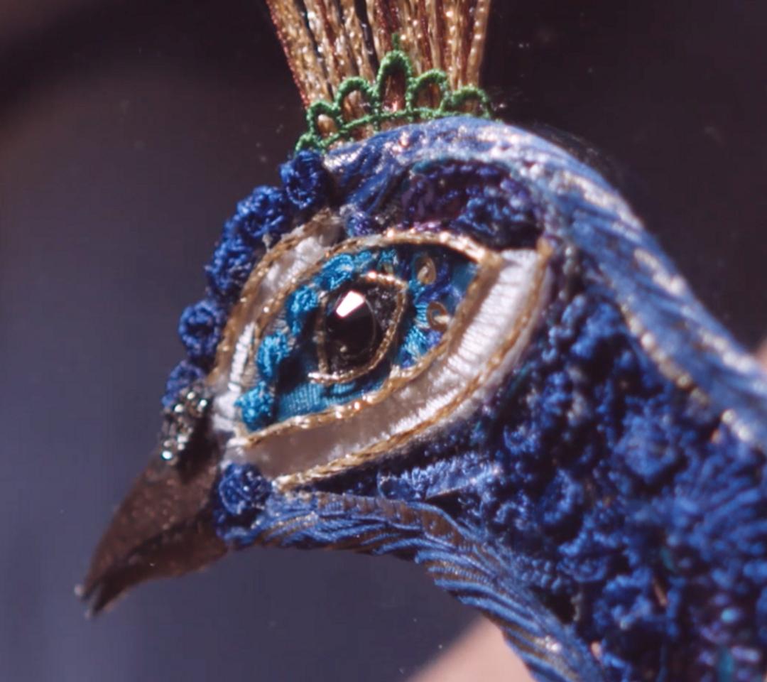 Fortnum & Mason Peacock Video