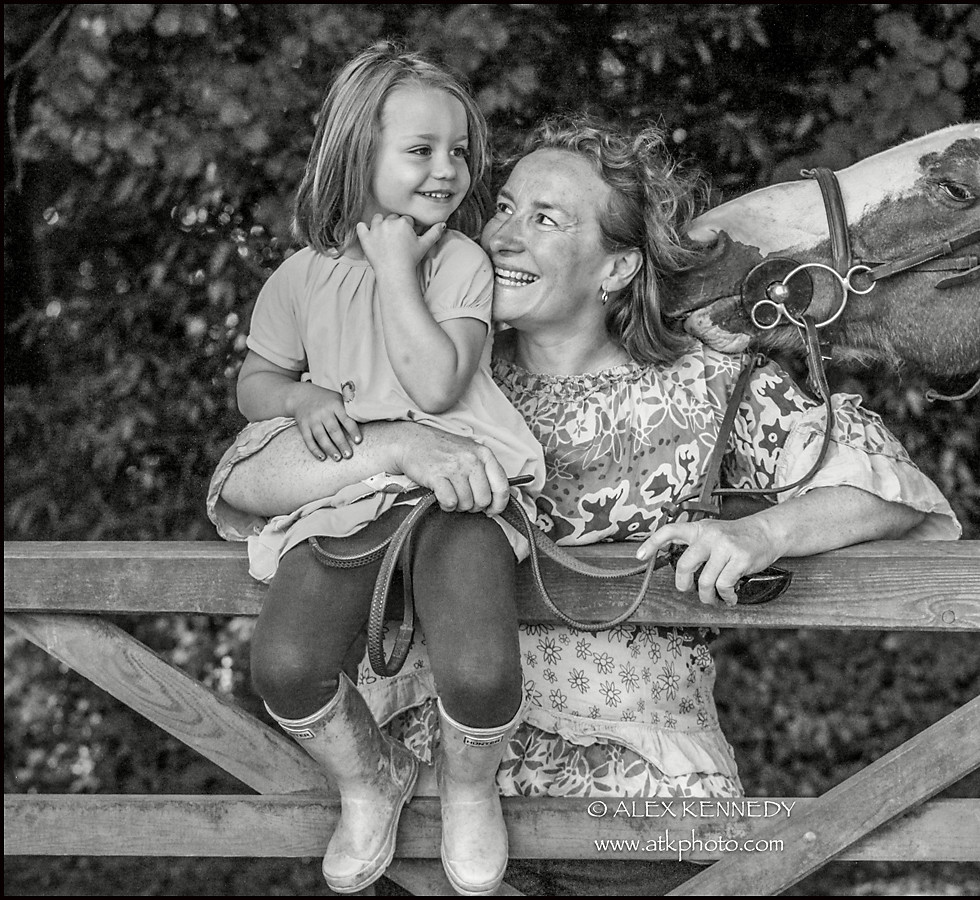 Bespoke contemporary equine portrait photography in Gloucestershire