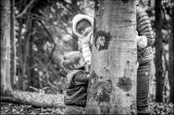 Creative and natural bespoke family portrait photography - Wiltshire