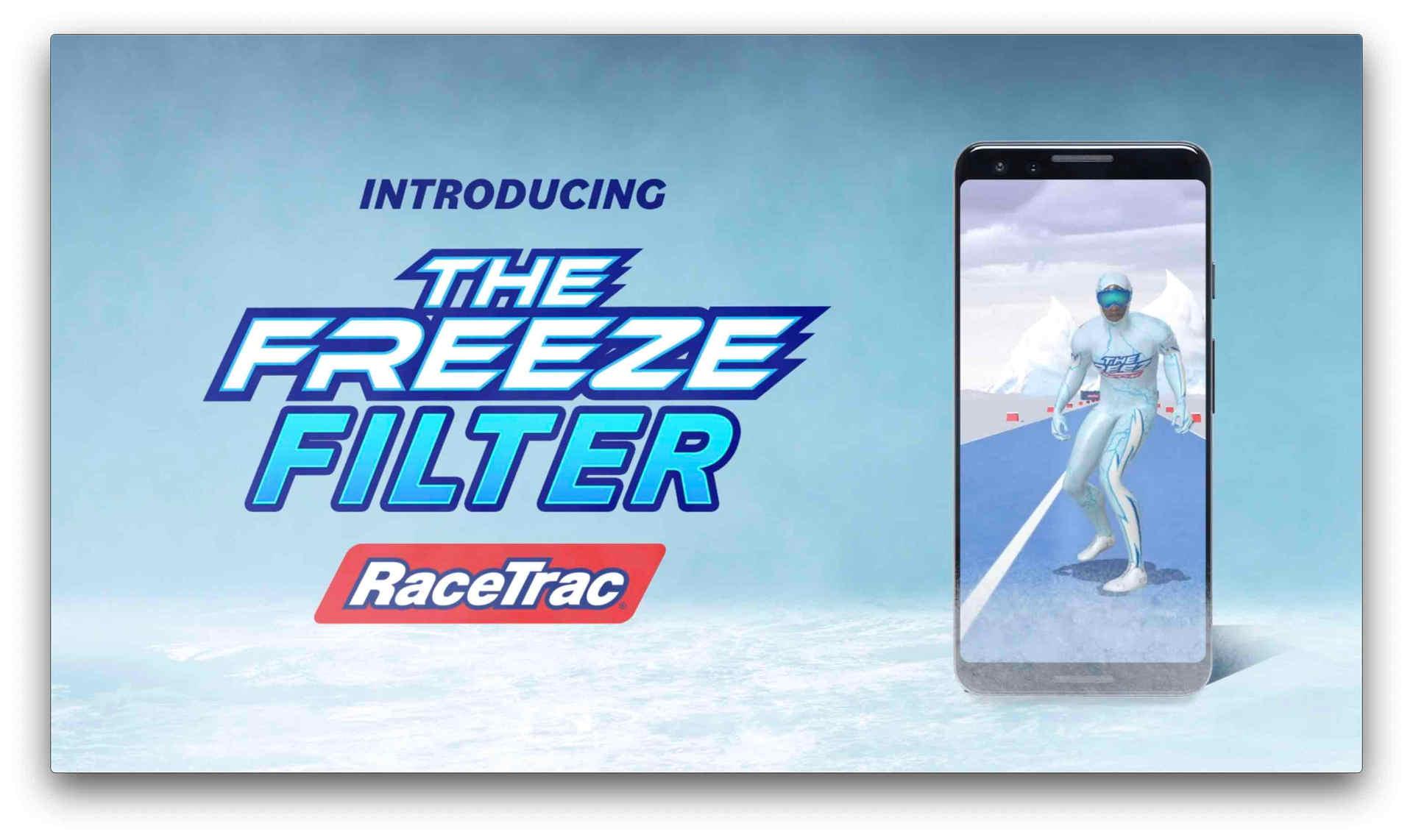 RACETRAC - Freeze Filter Campaign