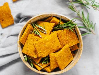 Paprika Chia Crackers